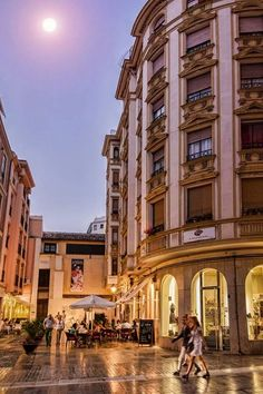 En el centro de Málaga Foto: Carlos Gil