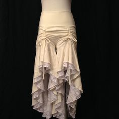 Sacred Empire Deadwood Bloomers in Cream, boho bride, country wedding, wildest party, bachelorette, burning man
