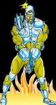 #AtoZChallenge: I for INSPECTOR STEEL  He is our very own desi Robocop..Checkout my today's featured favourite Indian comics hero and share your own with me! :) http://bit.ly/1ITBsNI #FavouriteIndianComicsCharacters #MonthlyBloggingChallenge #RajComics #InspectorSteel