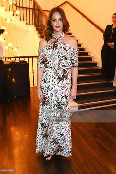 Ruth Wilson attends a cocktail reception at The 62nd London Evening Standard Theatre Awards, recognising excellence from across the world of theatre and beyond, at The Old Vic Theatre on November 13, 2016 in London, England.