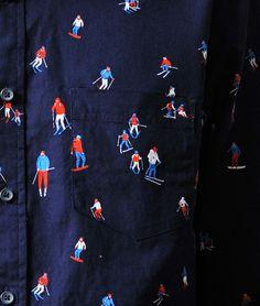 Harriet Taylor Seed Long Sleeve Shirt(Harriet Taylor Seed vol.007) Textile Patterns, Textiles, Shirt Sleeves, Long Sleeve Shirts, Alexander Mcqueen Scarf, Cloths, Fiber, Plaid, Embroidery
