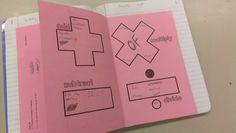 Math Key Words foldable & activity