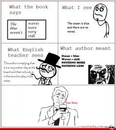 i hate my english teacher