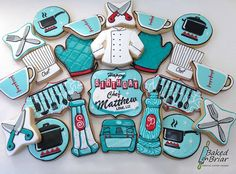 Chef's Birthday Cookies | Flickr - Photo Sharing!