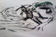 Linea d'abbigliamento SHARON B. Find more on: https://www.creomoda.weebly.com/ Pinterest: https://it.pinterest.com/creomodasharon/line-art/ Facebook: https://www.facebook.com/creomoda.weebly/  #overwatch #genji #painting #fashiondesigner #handmade