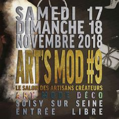 Newsletter 49 Les nouvelles collections au salon Art'smod Salon Des Artisans, Salon Art, Collections, Decor, Decoration, Decorating, Dekorasyon, Dekoration, Home Accents