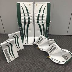 Here's Iowa Wild's very own John Curry's new Vaughn V6 setup!