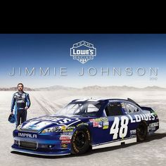 Jimmie Johnson's new car. Love me some JJ!!!