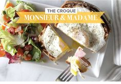"""Croque Monsieur & Madame 