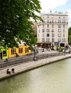 Canal Saint Martin, Paris X