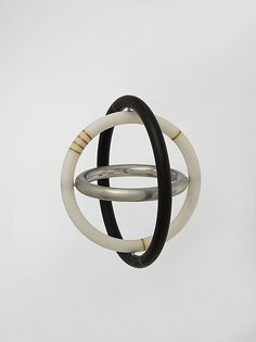"David Watkins, UK. Gyro"" Bracelet. steel"