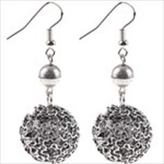 Charming Sphere Pendant Ear Drop Earrings Ear Pendants Jewelry for Woman Lady $3.27