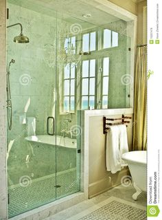 Bathroom, : Contempo Clawfoot Tub In Elegant Bathroom With Stall Shower Design Ideas Choice