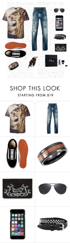 """""""Mmmman"""" by ko-creative-thinking on Polyvore featuring Nudie Jeans Co., Vans, Alexander McQueen, County Of Milan, Christian Dior, men's fashion and menswear"""