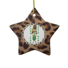Valxart template lets you Add photo chain leopard skin illusion ornament  by valxart.com for $14.95