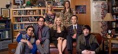 Main characters in The Big Bang Theory. First row from left: Raj Koothrappali, Leonard Hofstadter, Penny, Sheldon Cooper, and Howard Wolowitz. Second row from left: Bernadette Rostenkowski-Wolowitz and Amy Farrah Fowler.