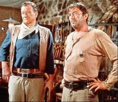 El Dorado, John Wayne and Robert Mitchum...... great scene..... and awesome movie!
