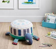 Margherita Missoni Jumbo Turtle Pouf | Pottery Barn Kids