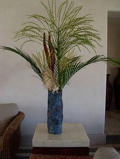 Palm tree's flowers.