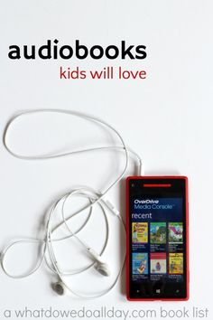Over a dozen great audiobooks for kids to listen to at home or on the go. These titles for audio books are great for children ages 5 and up.