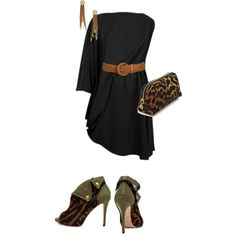 night out, created by amber-perkins on Polyvore