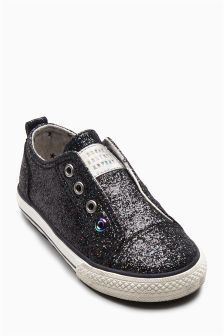 Laceless Glitter Pumps (Younger Girls) (736999) | R195 - R223
