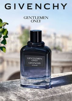 "Gentlemen Only Intense"", the new fragrance by Givenchy. A sensual and powerful version of the classic fragrance. Key Visual and POS design. Art Direction: Chic. Production, photoshoot and digital imaging: les ateliers."