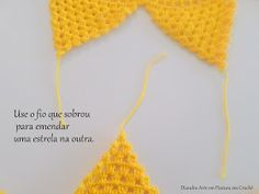 Diandra Arte em Crochê: PAP- TRILHO DE MESA RAIO DE SOL Lana, Crochet Bikini, Create Your Own, Crochet Hats, Fashion, Crochet Table Runner, Yellow Table, Yellow, Centerpieces