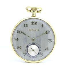 Pocket Watch TIFFANYティファニー懐中時計K18YG アンティーク Antique ¥398000yen 〆08月18日