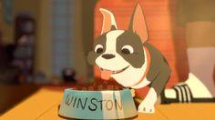 Feast (2014) Patrick Osborne ve Walt Disney Animasyon Stüdyoları'nın ilk kısa filmi olan Ziyafet (Feast), bir adamın aşk hayatının, en yakın dostu ve köpeği Winston'ın bakış açısından, paylaştıkları yemeklerde lokma lokma anlatılan hikâyesi.