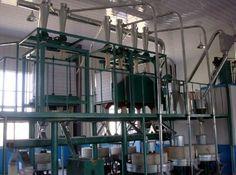 10T flour mill plant