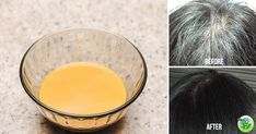 HOME REMEDY THAT TURNS GRAY HAIR BACK TO ITS NATURAL COLOR