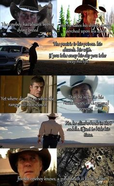 My favorite quote from the series.