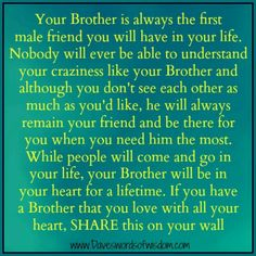 Love Brother Quotes Cool Family Wall Art  A Brother Is A Person  Brother Quote Inspiration