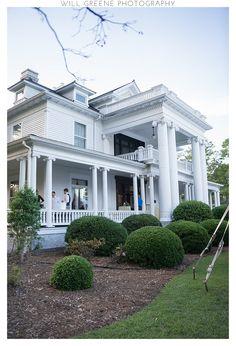 Howard House (Benson NC) wedding, Will Greene Photography