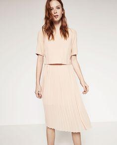 ZARA - SALE - MID-LENGTH DRESS