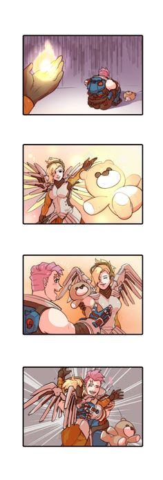 Zarya,Overwatch,Blizzard,Blizzard Entertainment,фэндомы,Mercy (Overwatch),Overwatch Comics