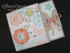 Qbee's Quest: Scalloped Tag Topper Punch Sale-a-bration Card