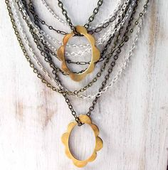 Snow White Necklace by MySelvagedlife