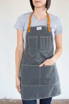 For pottery class! Hey, I found this really awesome Etsy listing at https://www.etsy.com/listing/199356481/womens-slate-waxed-canvas-artisan-apron