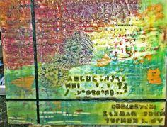 encaustic wax painting 8 x 10 City Photo, Wax, Painting, Color, Colour, Painting Art, Paintings, Painted Canvas, Colors