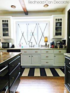 Beautiful DIY Kitchen Decor ideas by Julie Fiato from redheadcandecorate.com