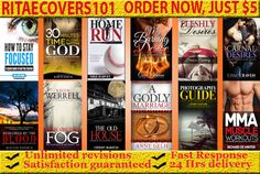 design a unique and professional EBOOK and kindle cover by ritaecovers101