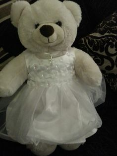 Teddy Bear LOST in BEXLEYHEATH, LONDON  Please help find rosie my little girl's teddy bear lost her yesterday by asda in Bexleyheath this is what she looks like and was wearing thank you x Contact: https://www.facebook.com/zoe.hillier.3