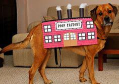 Poop Factory Dog Halloween Costume