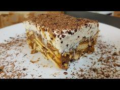 Συνταγή για μπισκοτογλυκό από τον Δημήτρη Τσολάκη και τα Μητσομαγειρέματα. Greek Sweets, Greek Desserts, Cold Desserts, Greek Recipes, Sweets Cake, Sweet Life, No Bake Cake, Tiramisu, Cooking Recipes
