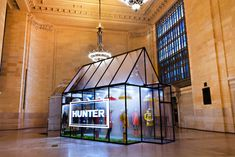 Hunter's Grand Central Terminal Pop-Up