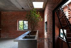 View full picture gallery of AgriNesture Brick Architecture, Contemporary Architecture, Flood Areas, Water Collection System, Agricultural Land, Indoor Trees, Living Environment, Reinforced Concrete, Brickwork