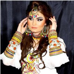 Afghan dress and jewlery