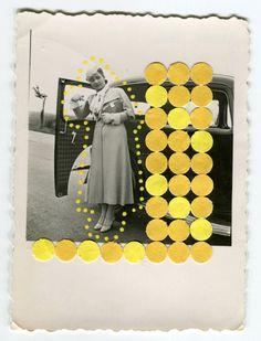 Arte, Collage © Naomi Vona I Cóctel Demente
